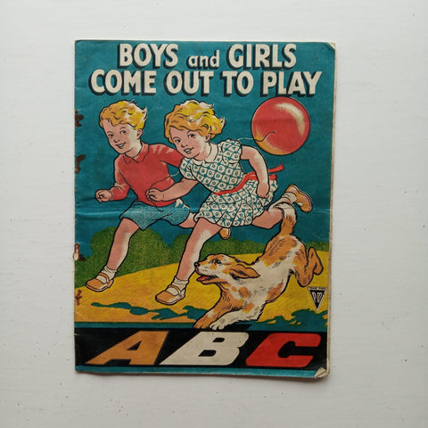 Boys and Girls Come out to Play by Uncredited