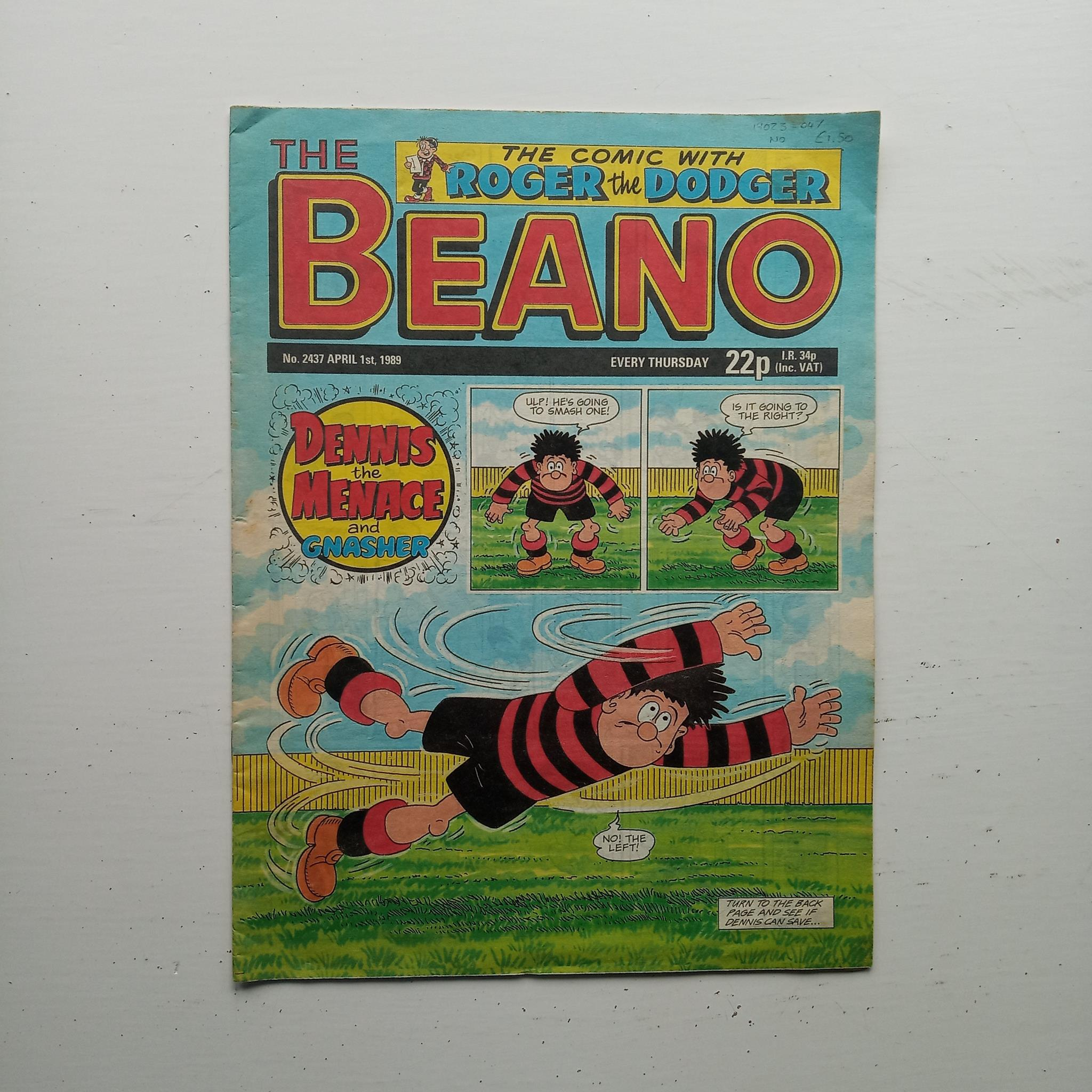 The Beano No 2437 by Uncredited