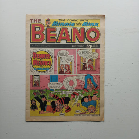 The Beano No 2425 by Uncredited