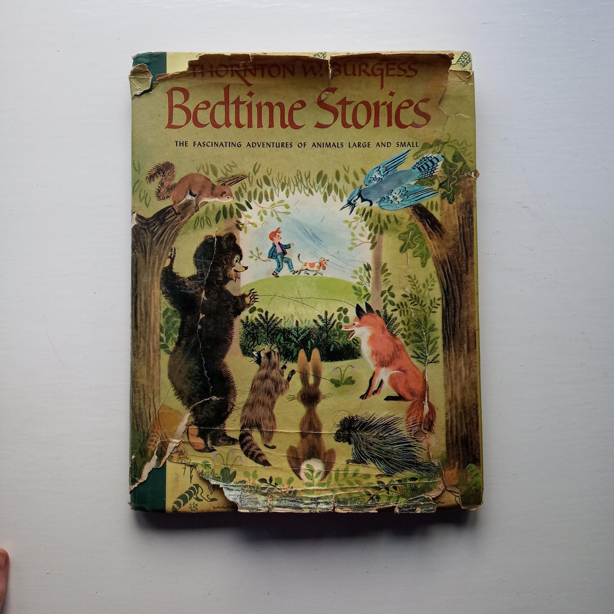 Bedtime Stories by Thornton W. Burgess