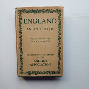 England: An Anthology by English Association