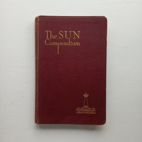 The Sun Compendium For Users of Photo-Process Engraving by Thos S. Barber (ed)