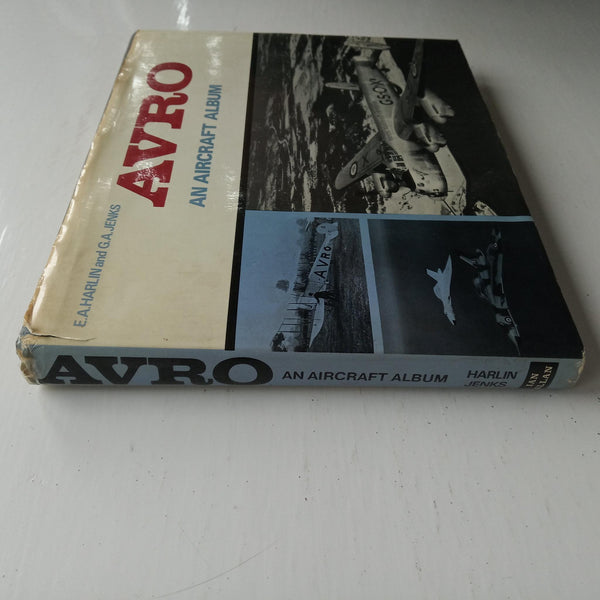 Avro: An Aircraft Album by E. A. Harlin and G. A. Jenks