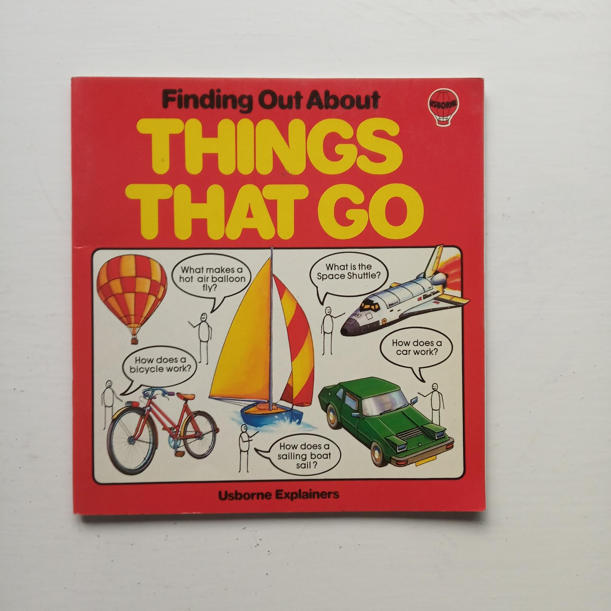 Finding Out about Things that Go by Eliot Humberstone