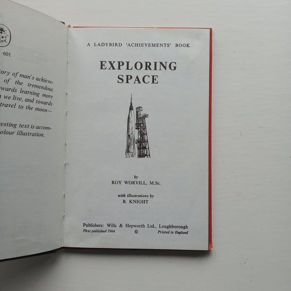Exploring Space by Roy Worvill