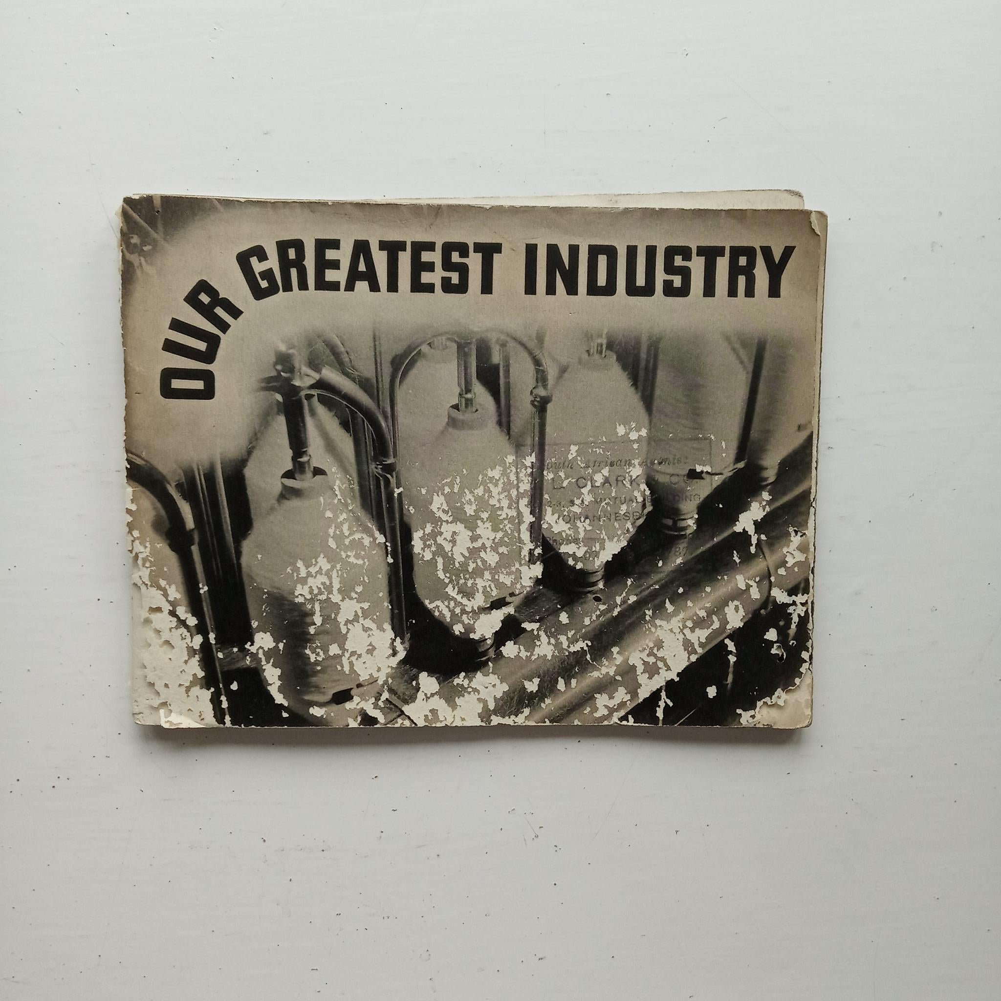 Our Greatest Industry by Pepperell Manufacturing Company