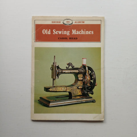 Old Sewing Machines by Carol Head