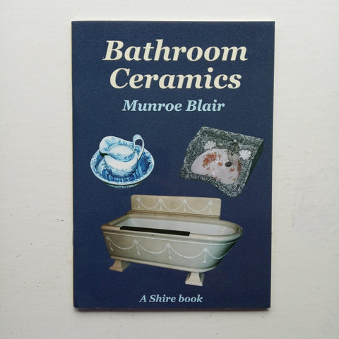 Bathroom Ceramics by Munroe Blair