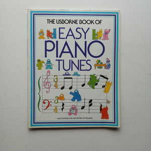 The Usborne Book of Easy Piano Tunes by Philip Hawthorn