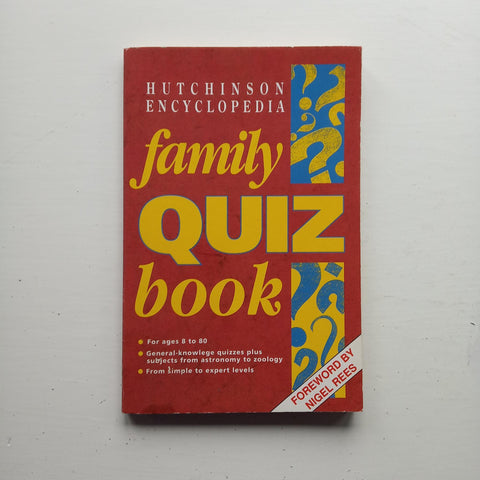 Family Quiz Book by Eddie Waltham (ed)