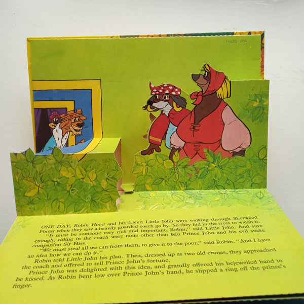 Robin Hood: A Pop-up Book by Walt Disney Productions
