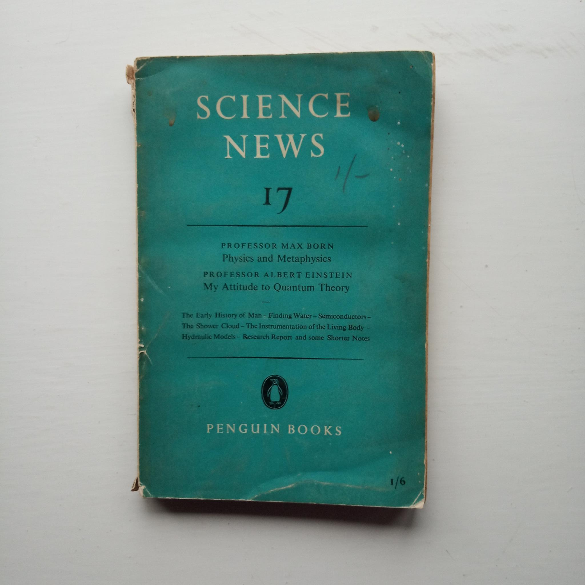 Science News 17 by J. L. Crammer (ed)