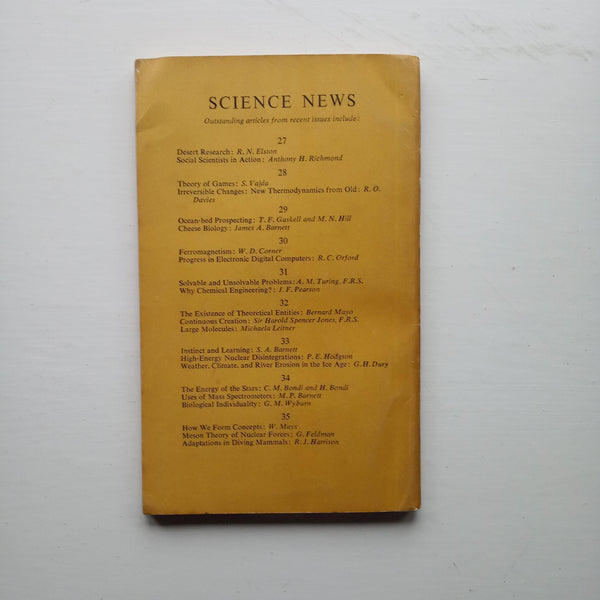 Science News 36 by A. W. Haslett (ed)