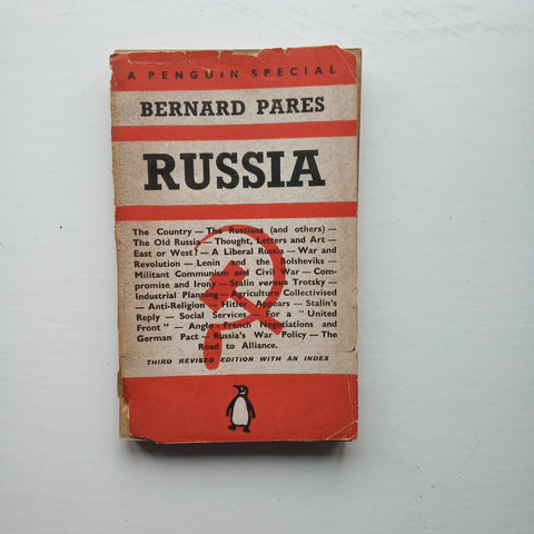 Russia by Bernard Pares