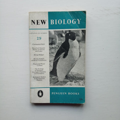 New Biology 29 by M. L. Johnson et al (eds)