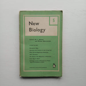 New Biology 5 by M. L. Johnson and Michael Abercrombie (eds)