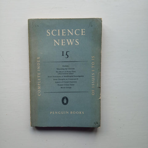Science News 15 by J. L Cramer (ed)