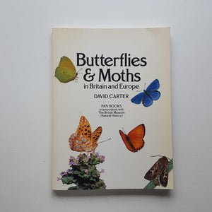 Butterflies and Moths in Britain and Europe by David Carter