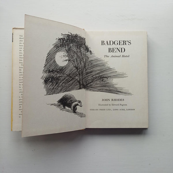 Badger's Bend The Animal Hotel by John Rhodes