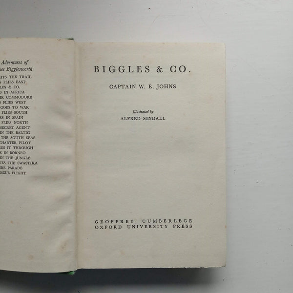 Biggles & Co by Captain W.E. Johns