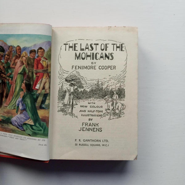 The Last of the Mohicans by Fenimore Cooper