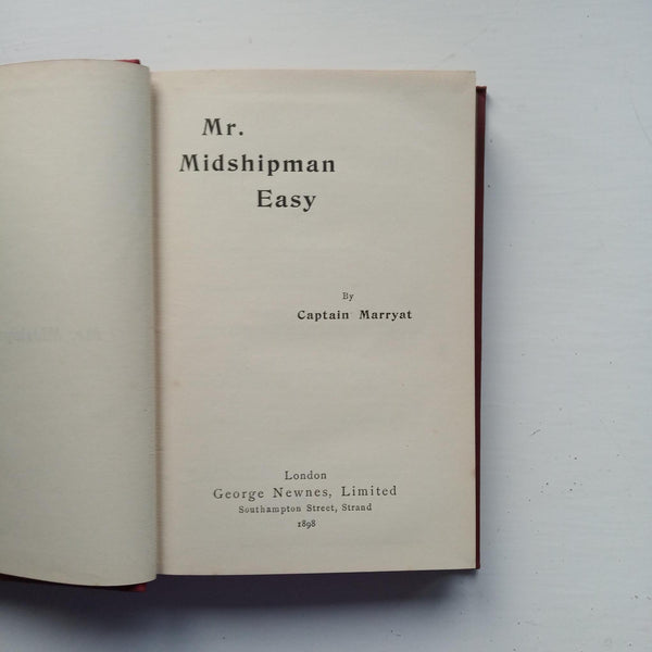 Mr Midshipman Easy by Captain Marryat