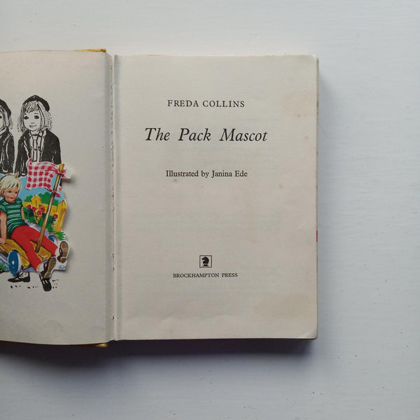 The Pack Mascot by Freda Collins