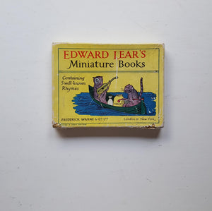 Edward Lear's Miniature Books by Edward Lear