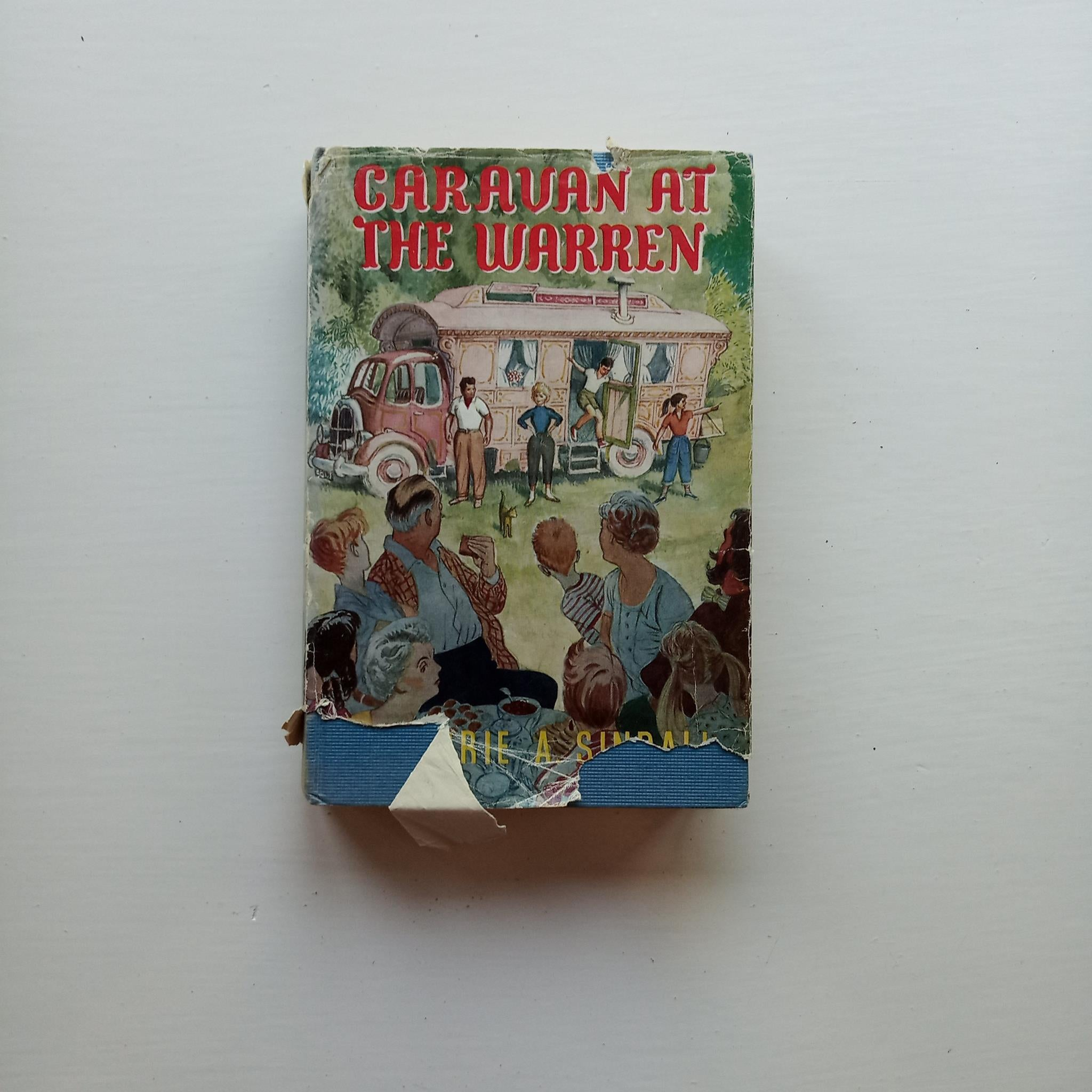 Caravan at the Warren by Marjorie A. Sindall