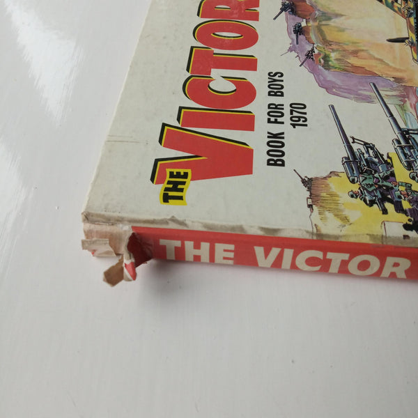 The Victor Book for Boys 1970 by Uncredited