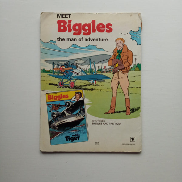 Biggles and the Menace from Space by Bjorn Karlstrom and Peter James