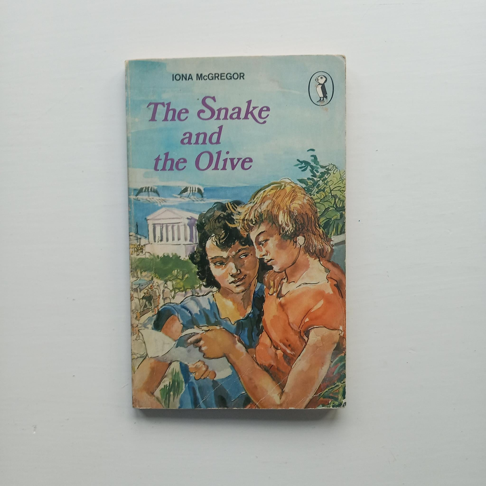 The Snake and the Olive by Iona McGregor