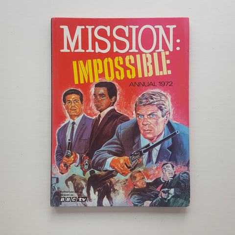 Mission Impossible Annual 1972 by BBC