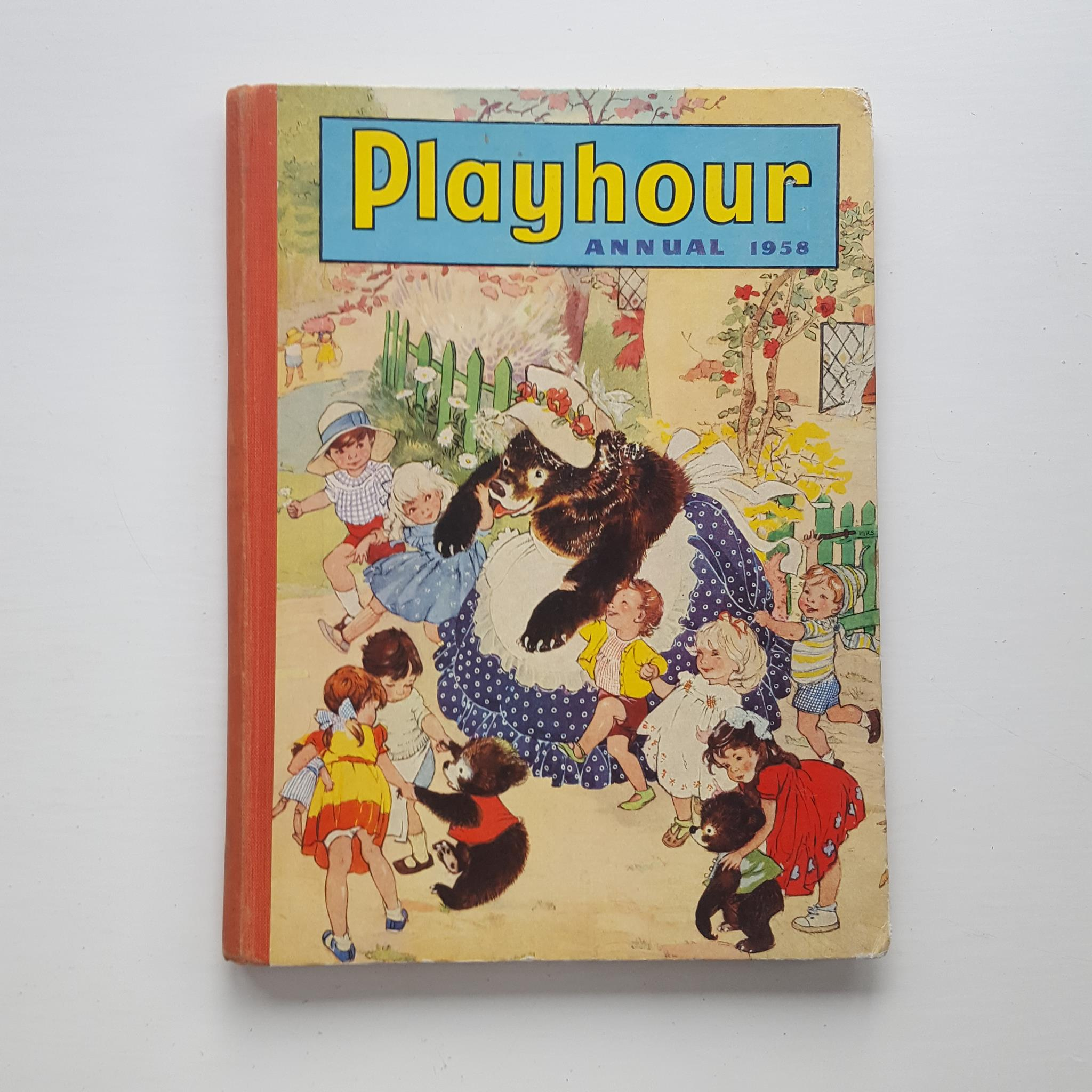 Playhour Annual 1958 by Uncredited