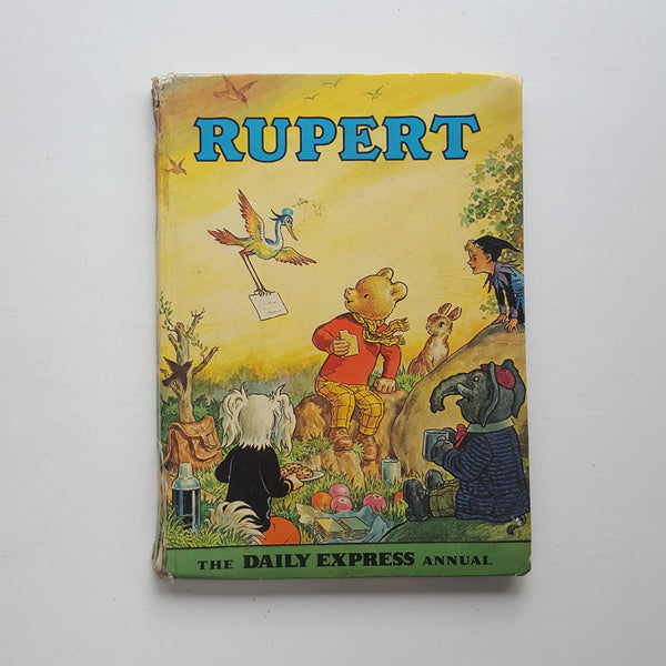 Rupert Annual 1972 by Daily Express