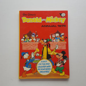 Donald and Mickey Annual 1975 by Walt Disney Productions
