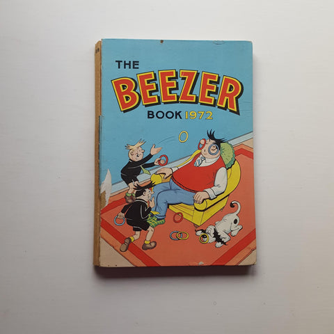 The Beezer Book 1972 by Uncredited