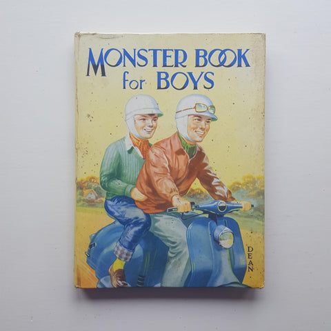 Monster Book for Boys by Various