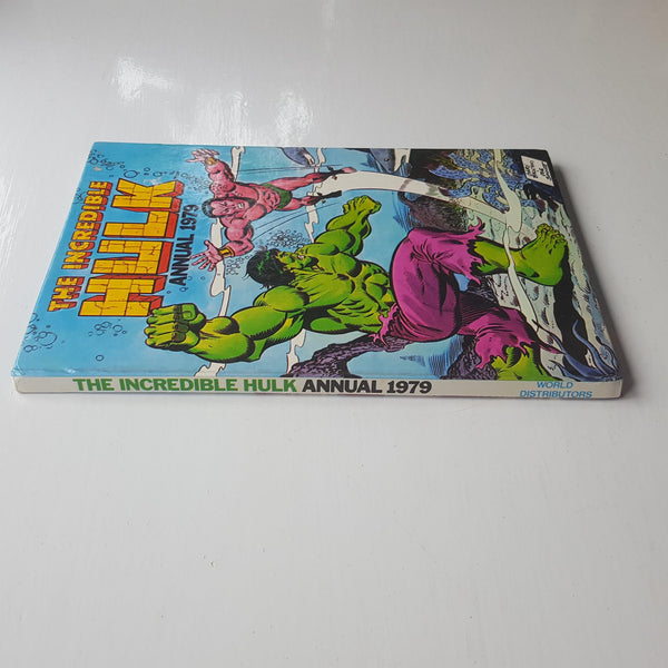 The Incredible Hulk Annual 1979 by Stan Lee