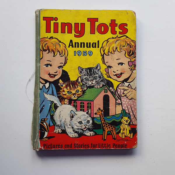 Tiny Tots Annual 1959 by Uncredited