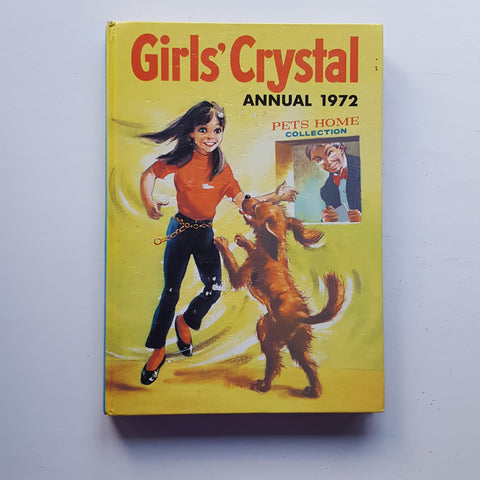Girls Crystal Annual 1972 by Uncredited