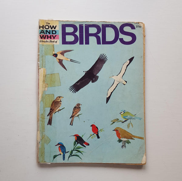 The How and Why Wonder Book of Birds by John Gooders
