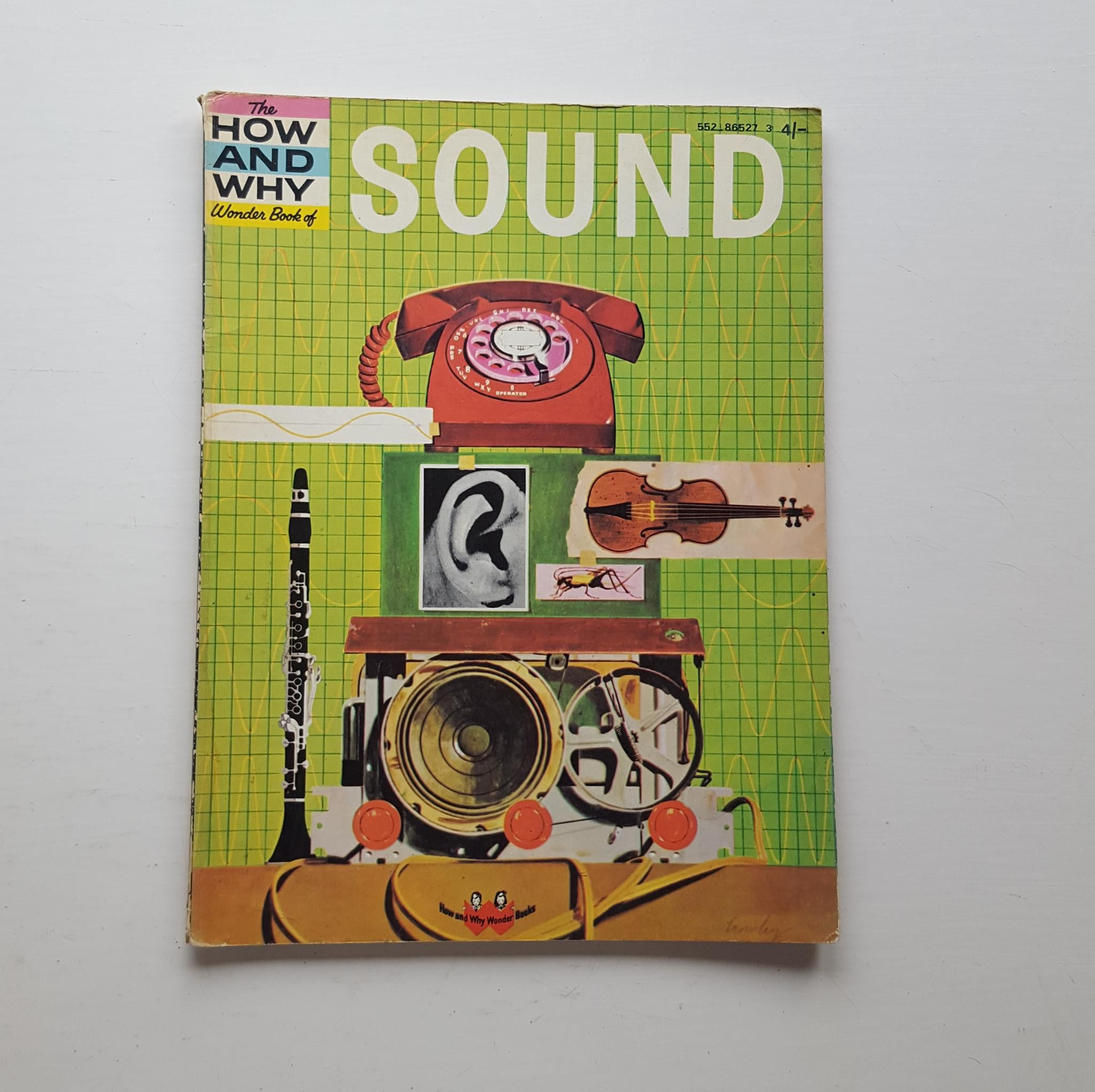 The How and Why Wonder Book of Sound by Martin L. Keen