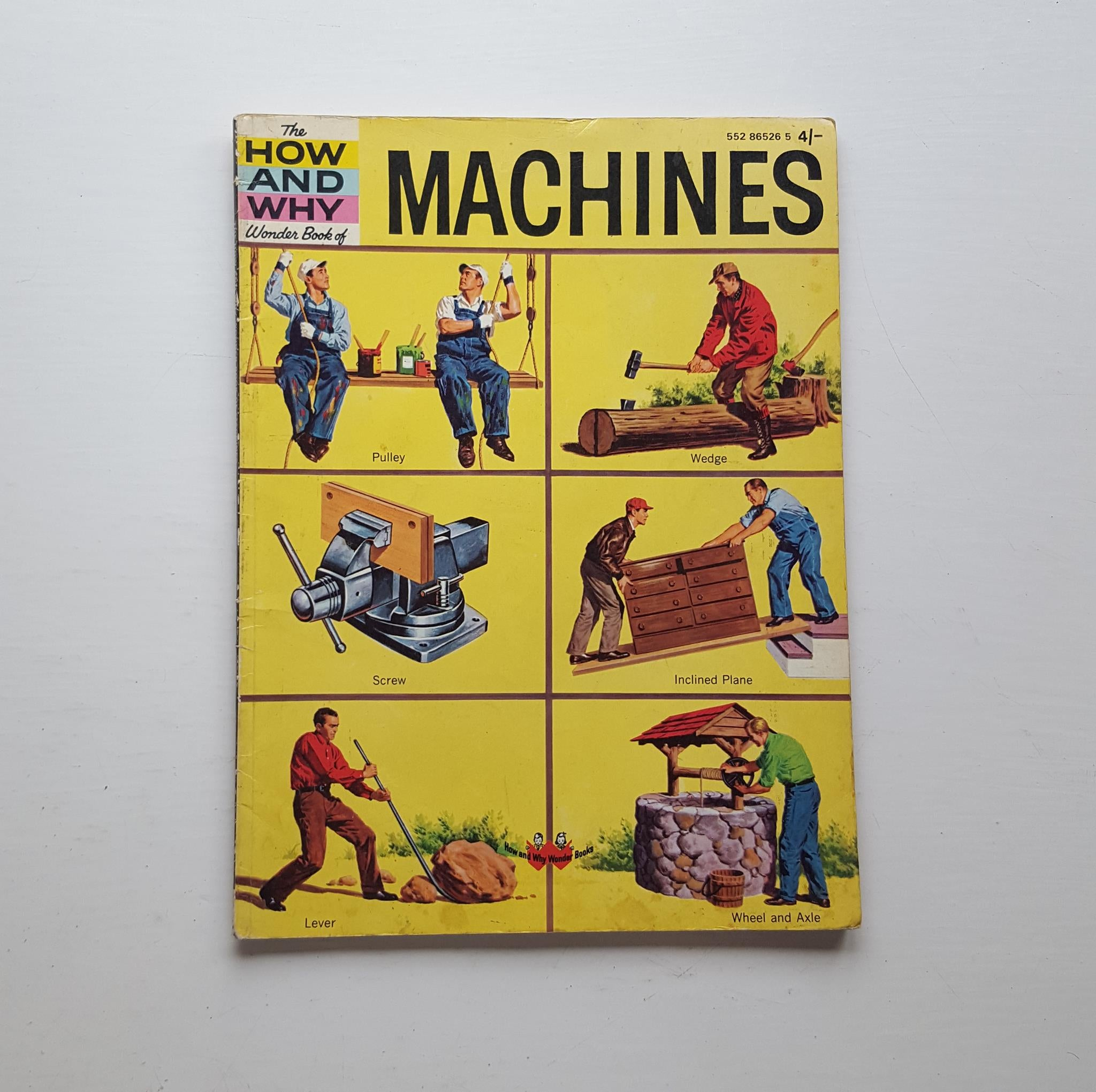 The How and Why Wonder Book of Machines by Dr Jerome J Notkin and Sidney Gulkin