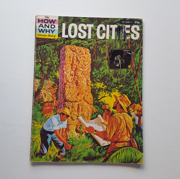 The How and Why Wonder Book of Lost Cities by Irving Robbin