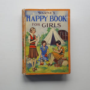 Warne's Happy Book for Girls by Mary England (ed)