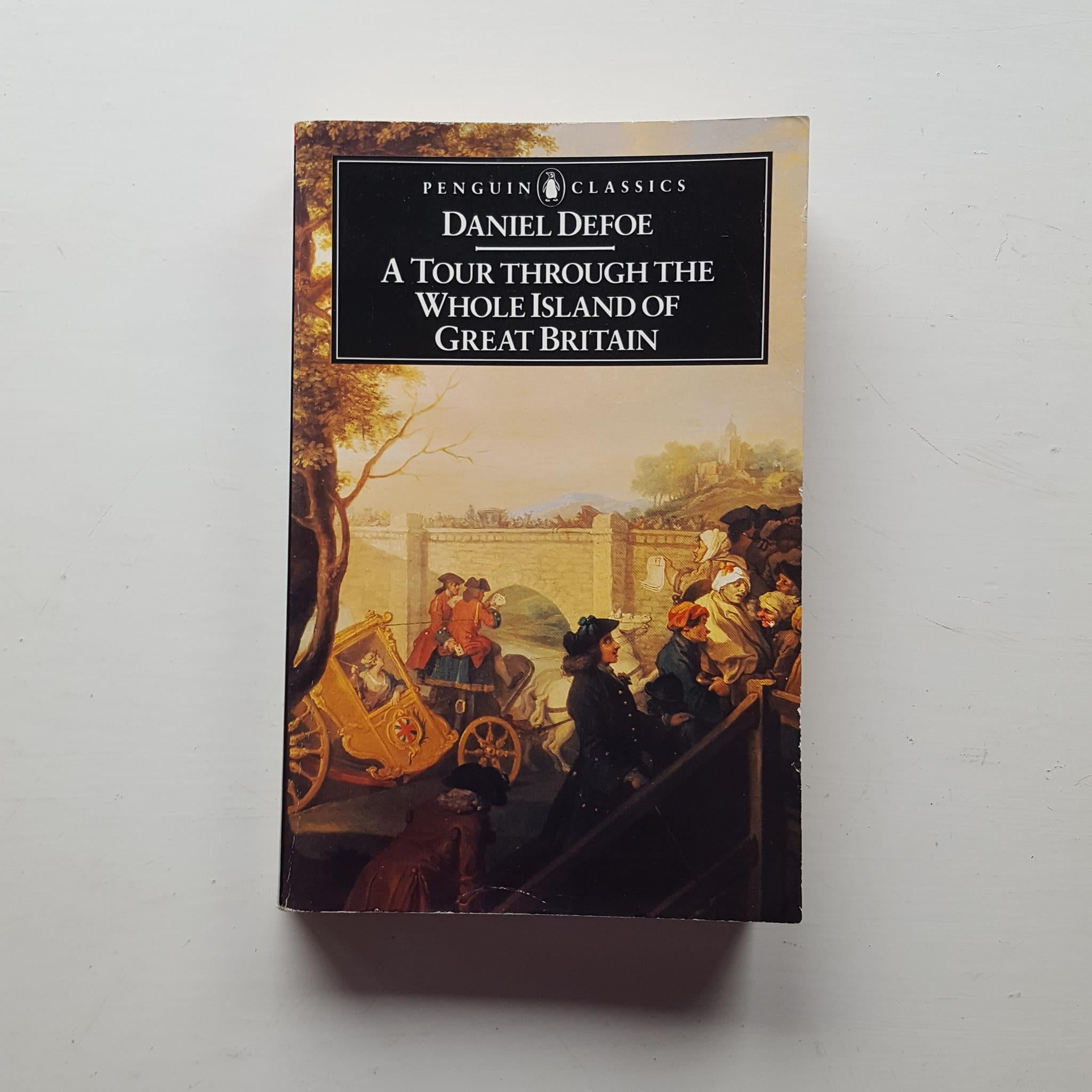 A Tour Through the Whole Island of Great Britain by Daniel Defoe