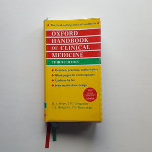 Oxford Handbook of Clinical Medicine by R.A. Hope et al