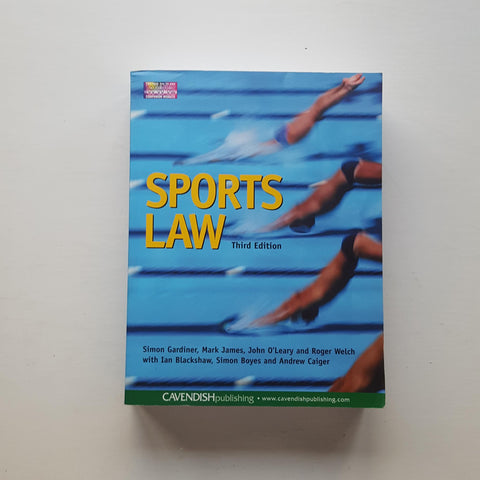 Sports Law by Simon Gardiner et al