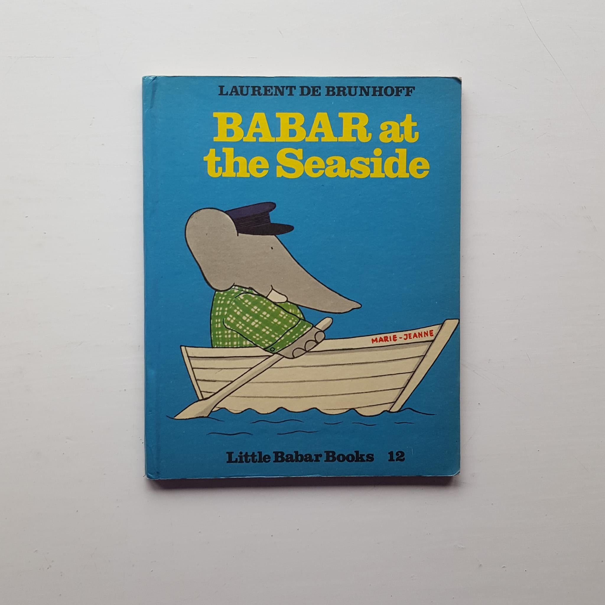 Babar at the Seaside by Laurent de Brunhoff